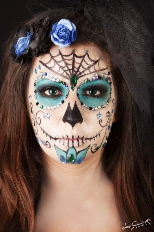 La Catrina: el maquillaje de moda para Halloween