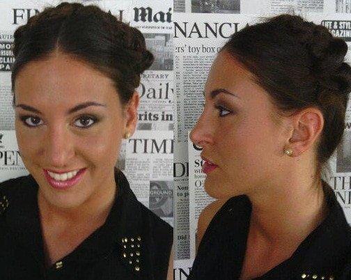 lorena maquillaje