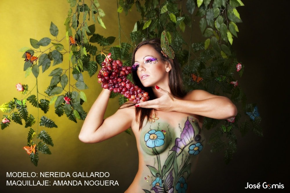 nereida gallardo body painting