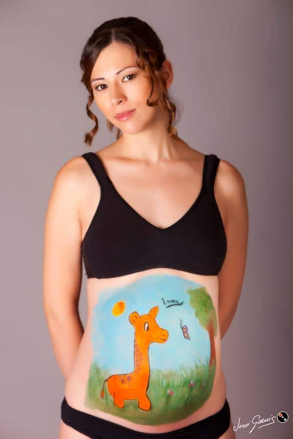 bodypainting embarazadas sesion de fotos