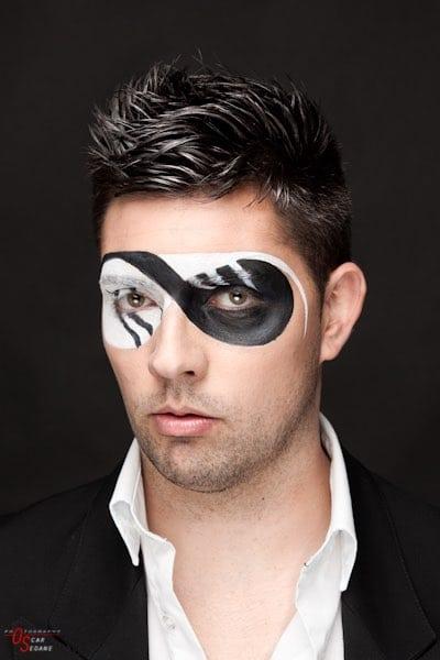 natifaz make up disfraz hombre