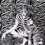 bodypaint body painting bodypaint zebra cebra isa jimenez jose gomis