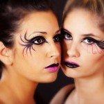 maquillaje fantasía negro y rosa Isa Jimenez Jose Gomis Irene Amate