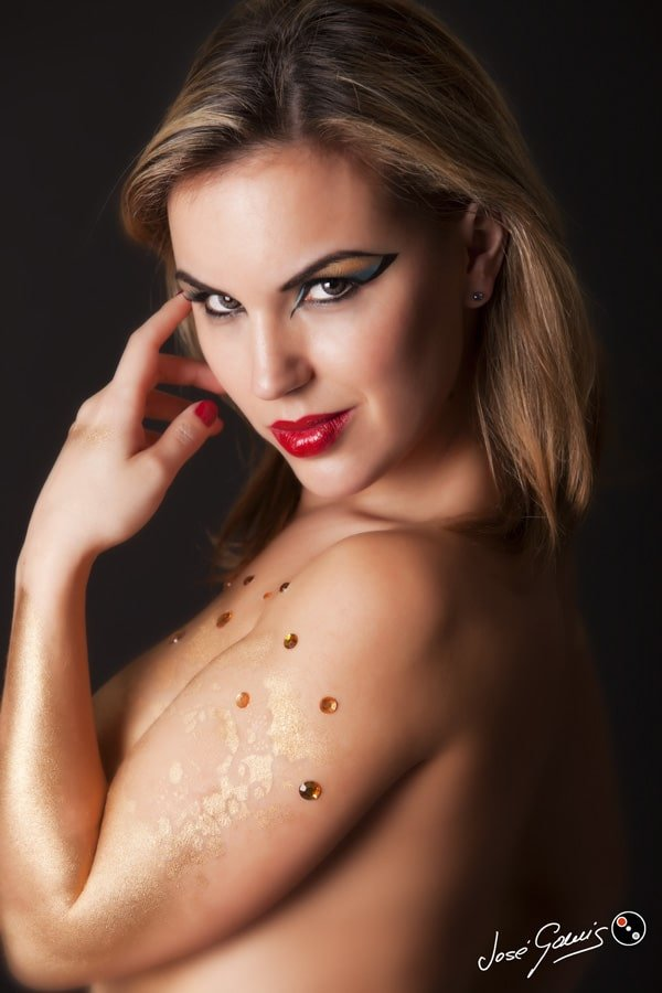 maquillaje cleopatra